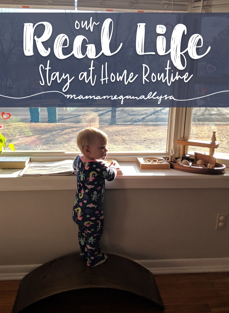18 months - 2 year old toddler daily routine for a SAHM mom of one
