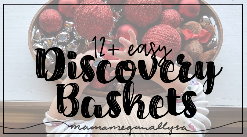 title card for 12 + discovery baskets