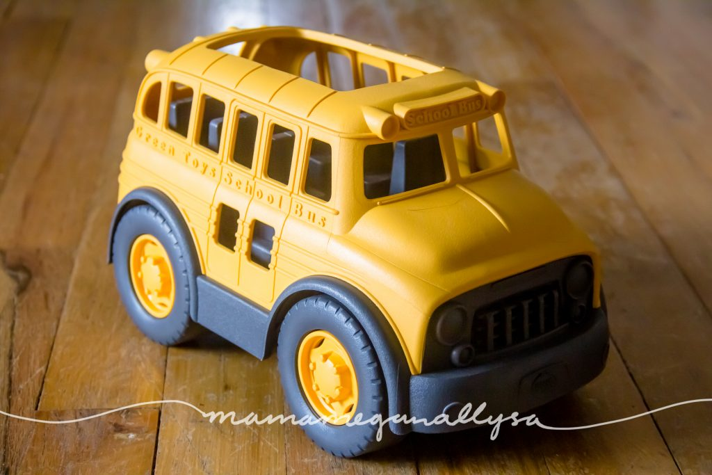 our green toys school bus
