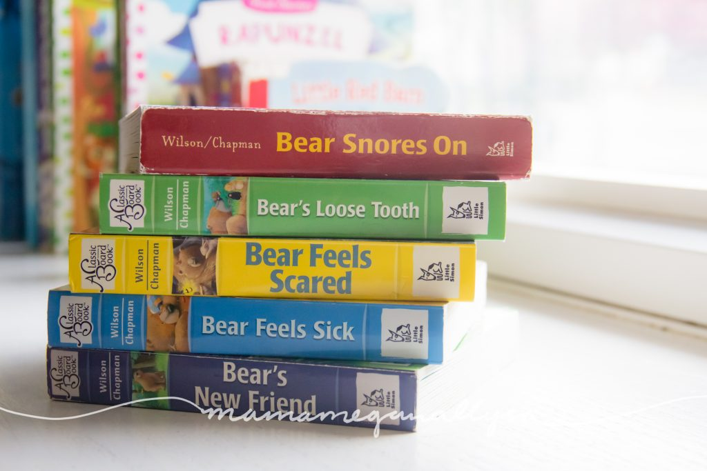 Bear Snores On series