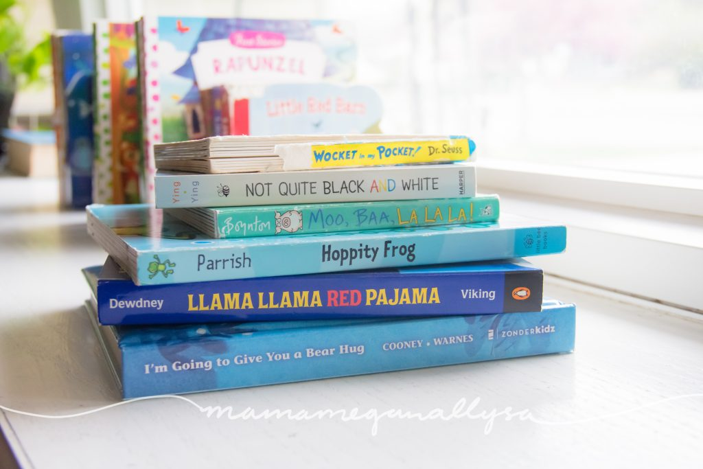 stack of one off books that we love