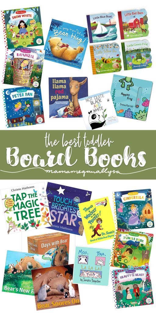 The best board books are sturdy, interactive and have a nice flow to them. Our favorites toddler board books are no different
