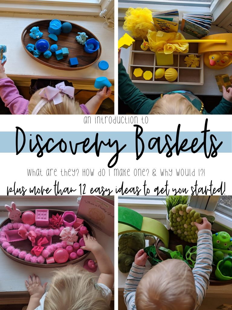 title card for intro to discovery baskets