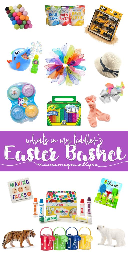 Title card for whats in Sidney's Easter Basket