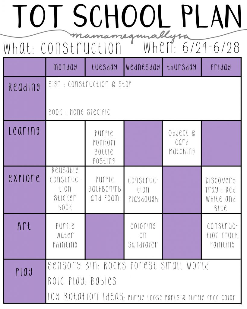 construction lesson plans