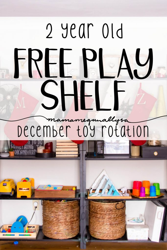 Our December toy rotation is sure to get ignored some with all the holiday happenings but I am excited to see what she gravitates towards!