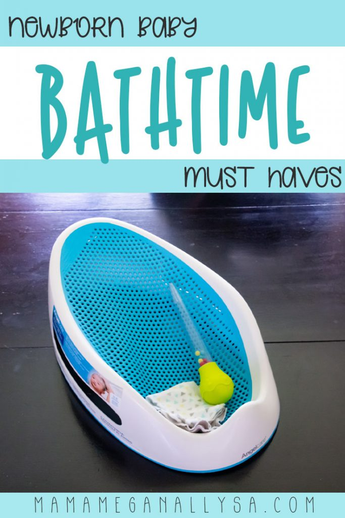 Keeping bath time simple and warm with our newborn must haves for bath time