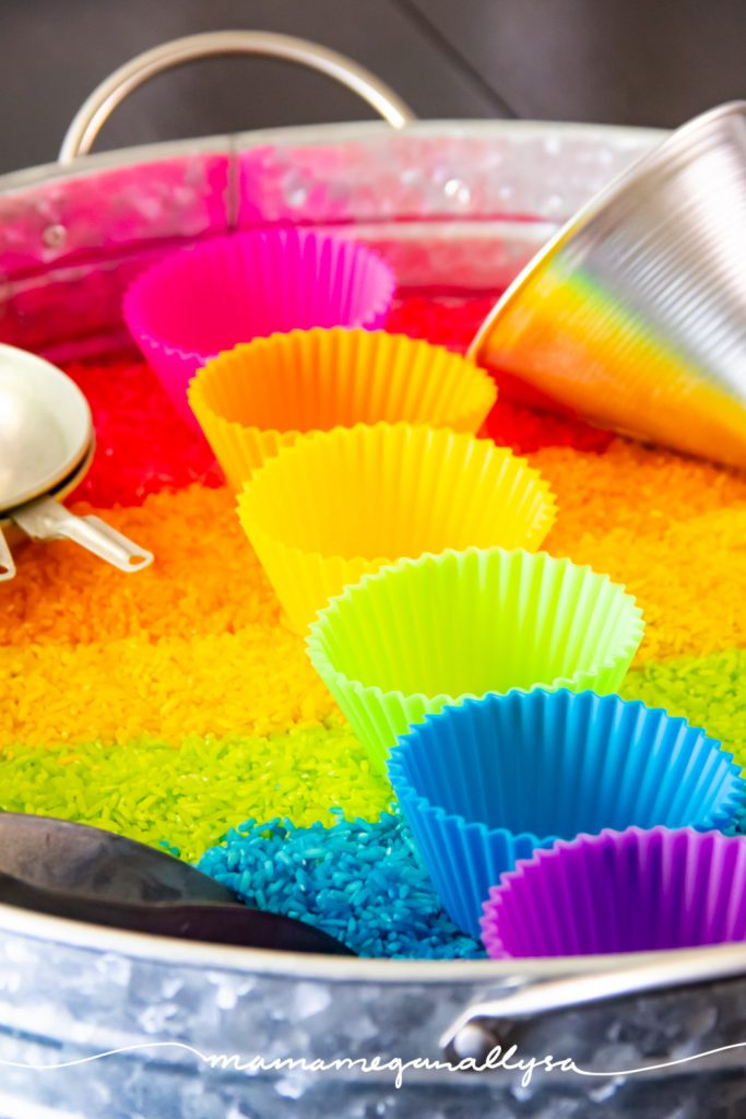 A rainbow of silicone cupcake liners will hold up better than traditional paper liners, not to mention they are so bright and colorful!