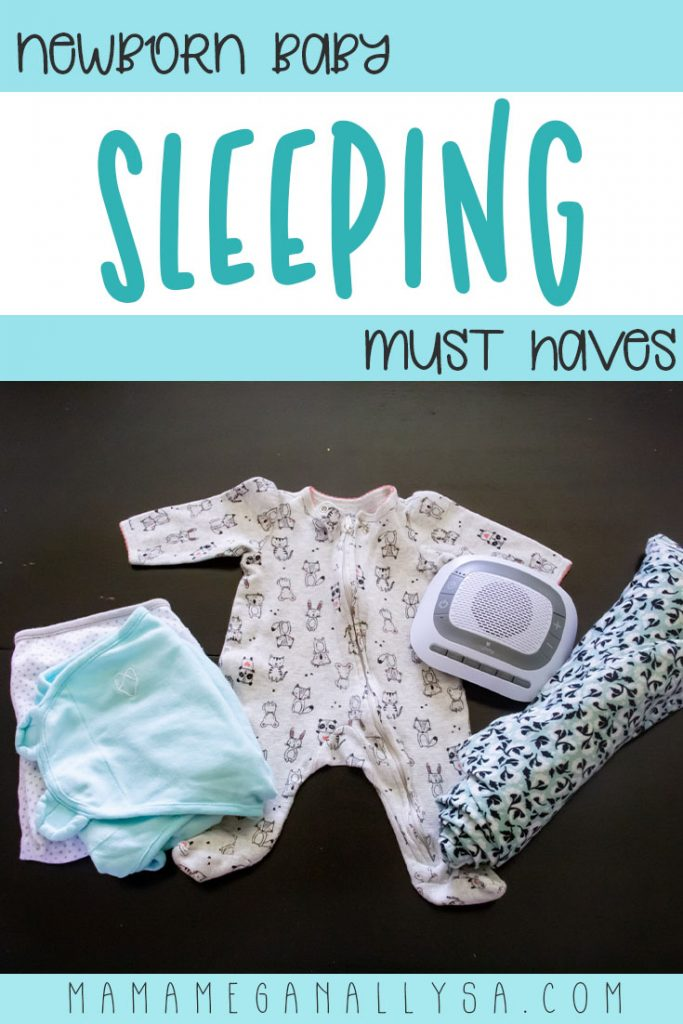 In those first few weeks sleeping is all they will really be doing, so here are our newborn sleeping must have baby gear