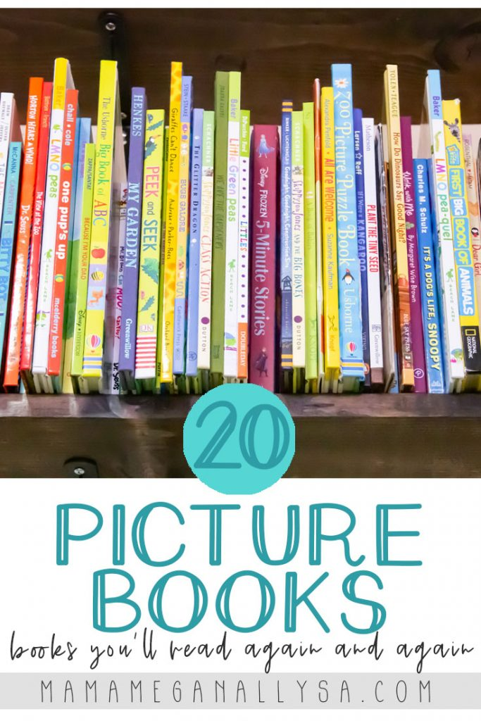 Looking for picture books for 2 year olds that even you will love? I've got you! From classic favorites to new finds and hidden gems here are 20 books that both you and your toddler won't get tired of! #childrensbooks #kidsbooks #toddlerbooks #toddlers #picturebooks