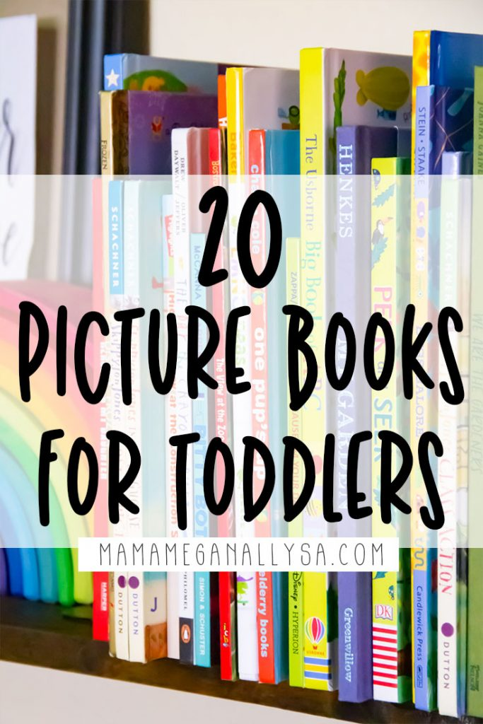 more than 20 of our favorite picture books at almost 3 years old