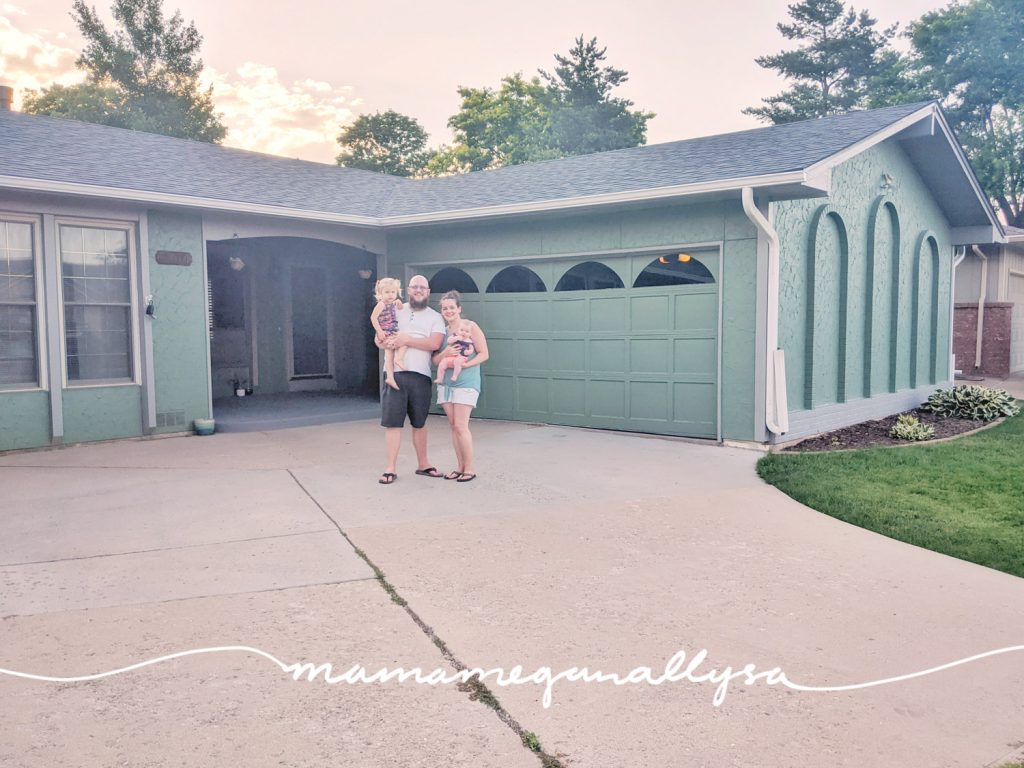 A personal milestone for the family was purchasing and moving into our first home. I can not wait to raise our girls here!