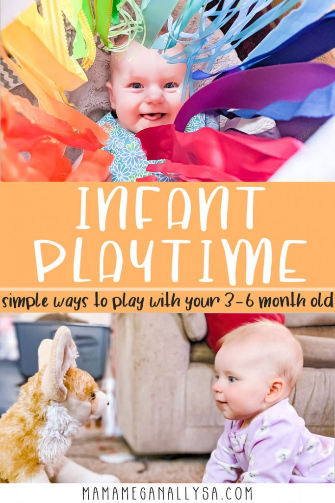 If your looking for low prep invitations to play for your 3 - 6 month old baby then look no further! I have 15 ideas using things you likely already have laying around the house. These ideas will encourage development and keep everyone happy!
