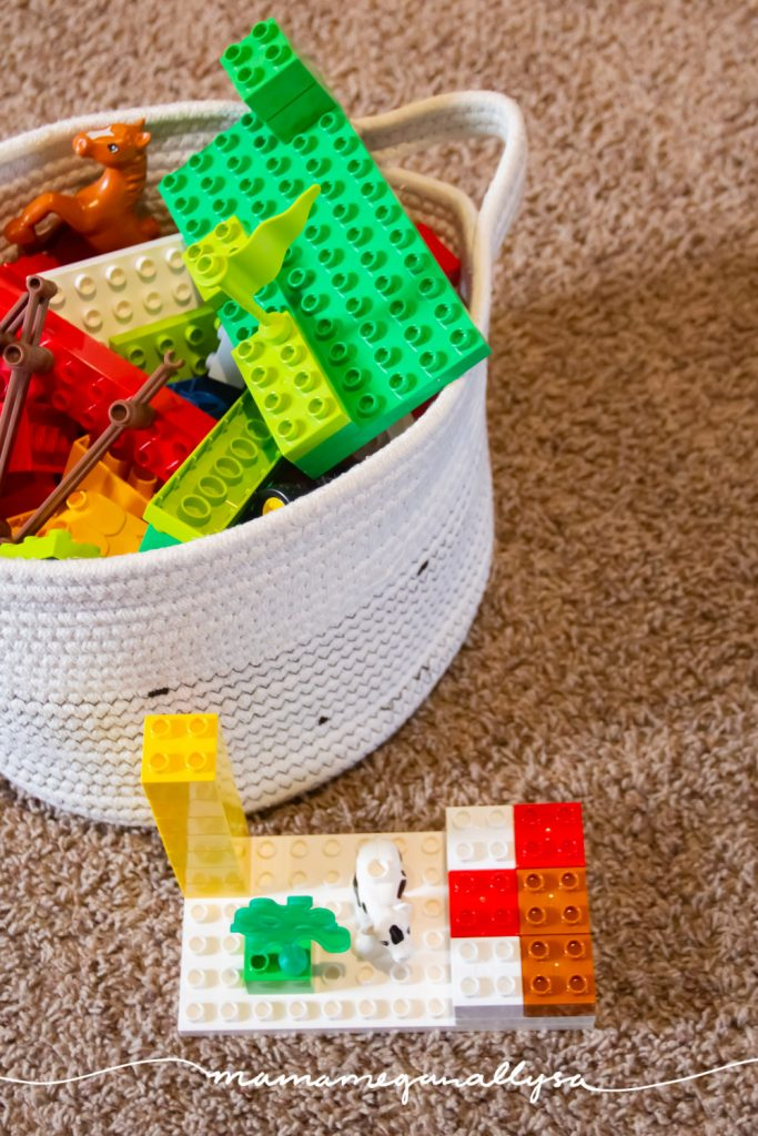 lego duplos are such a great toy for open-ended play and its so fun watching your toddler's style of building grow and evolve as they get older