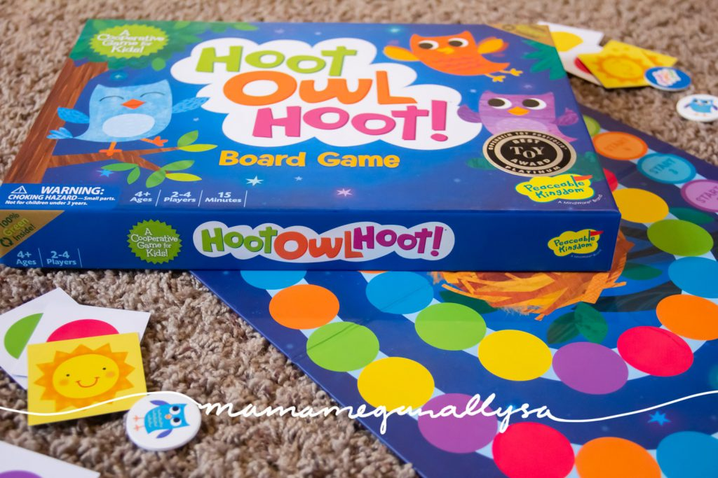 hoot owl hoot is a super simple game of color matching and teamwork!