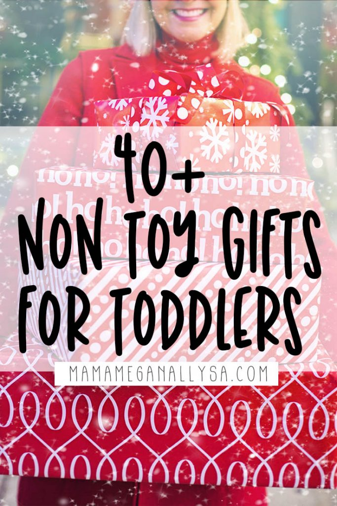 Sometimes you just cant stomach the idea of more toys coming into your home. I have over 40 non toy ideas on my 3 year old gift guide that your little will love and use well after the season is over