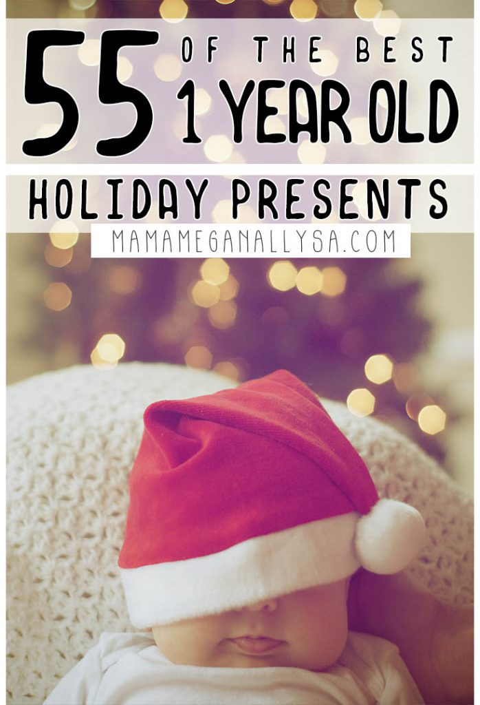 With over 80 ideas on my 1 year old gift guide, you will find lots of fun and learning presents that your little will love long after the holiday season is over! Gift Ideas your young toddler will love to play and learn with including open-ended toys, dramatic play, building toys and so many books and puzzles!  . #christmasgifts #giftguide #giftideas #baby #youngtoddler #1yearold #christmas #shopping