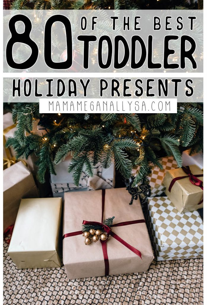 over 80 ideas on my 3 year old gift guide with fun and learning presents that your little will love long after the holiday season!
