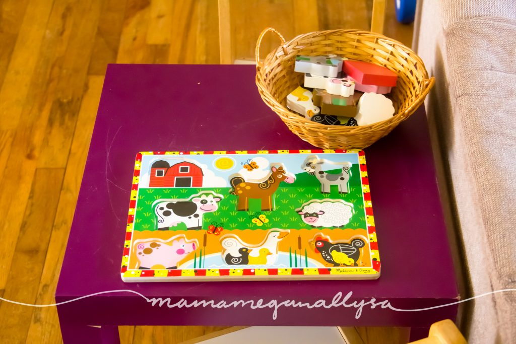 chunky toddler farm puzzle