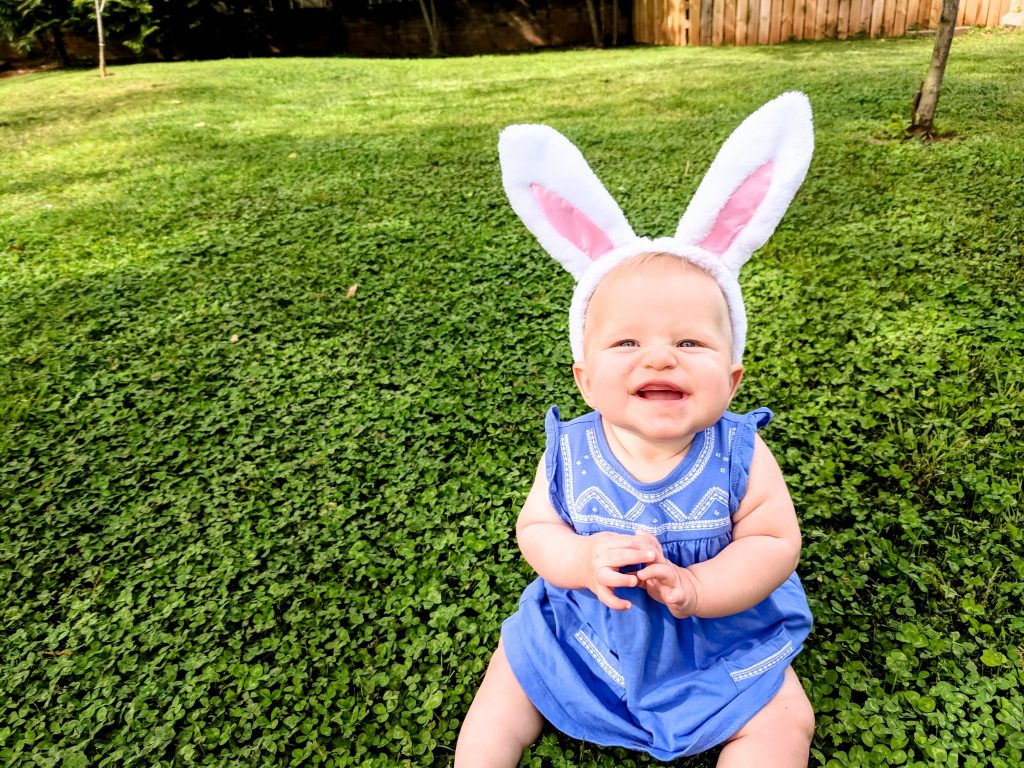 flashback to Sidney's first Easter