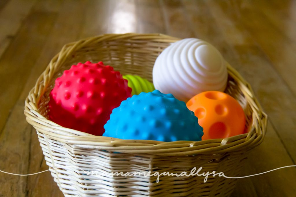basket of balls for free play