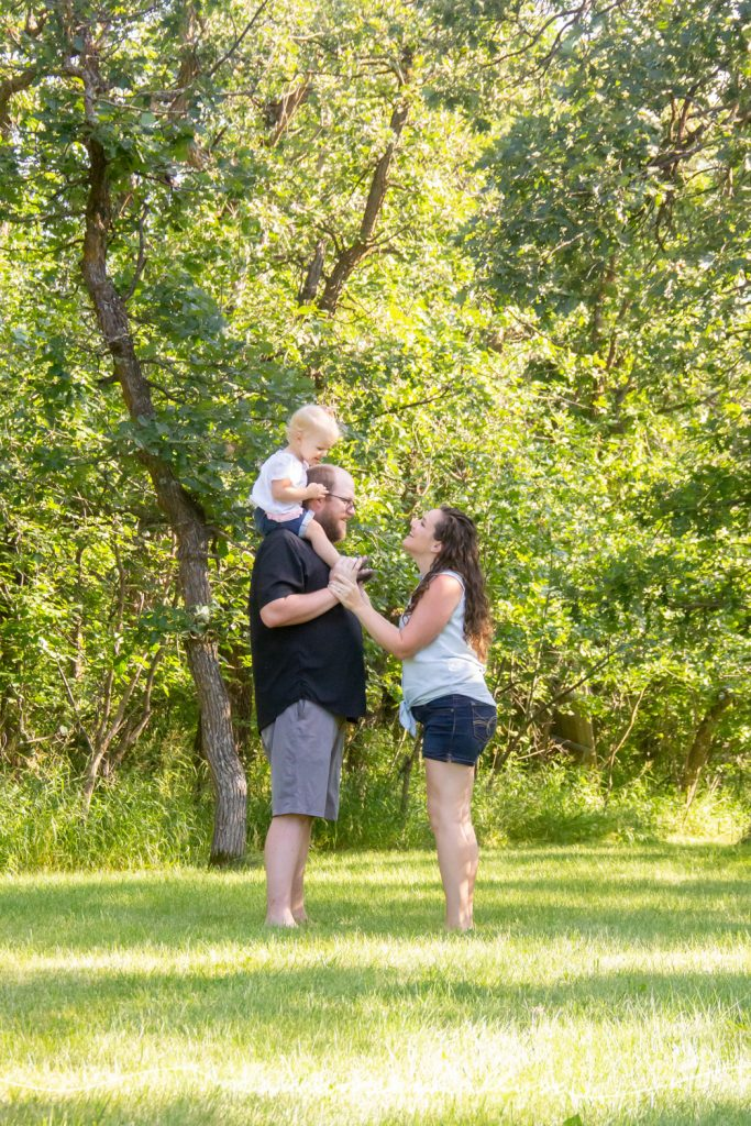 Family of three soon to become family of 4