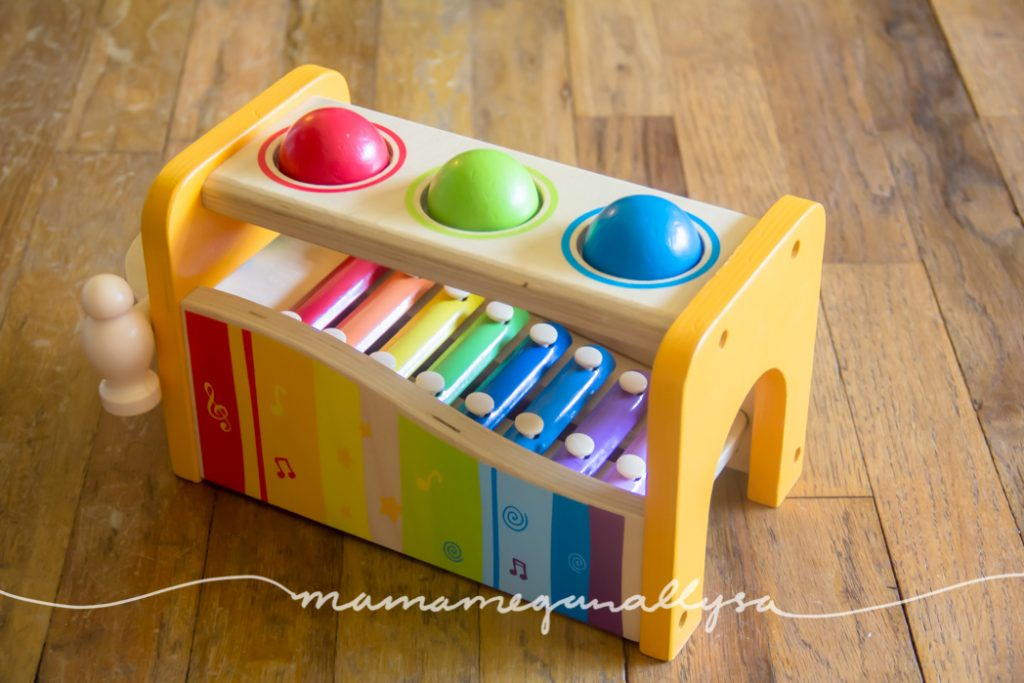 the hammer bench and xylaphone are great because of the 2-in-1 nature