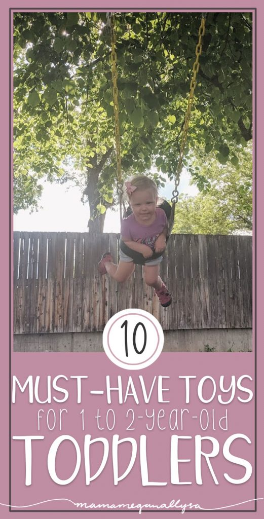 """These are our top 10 1-year-old must-have toys for that young toddler or """"taby"""" lifestyle"""