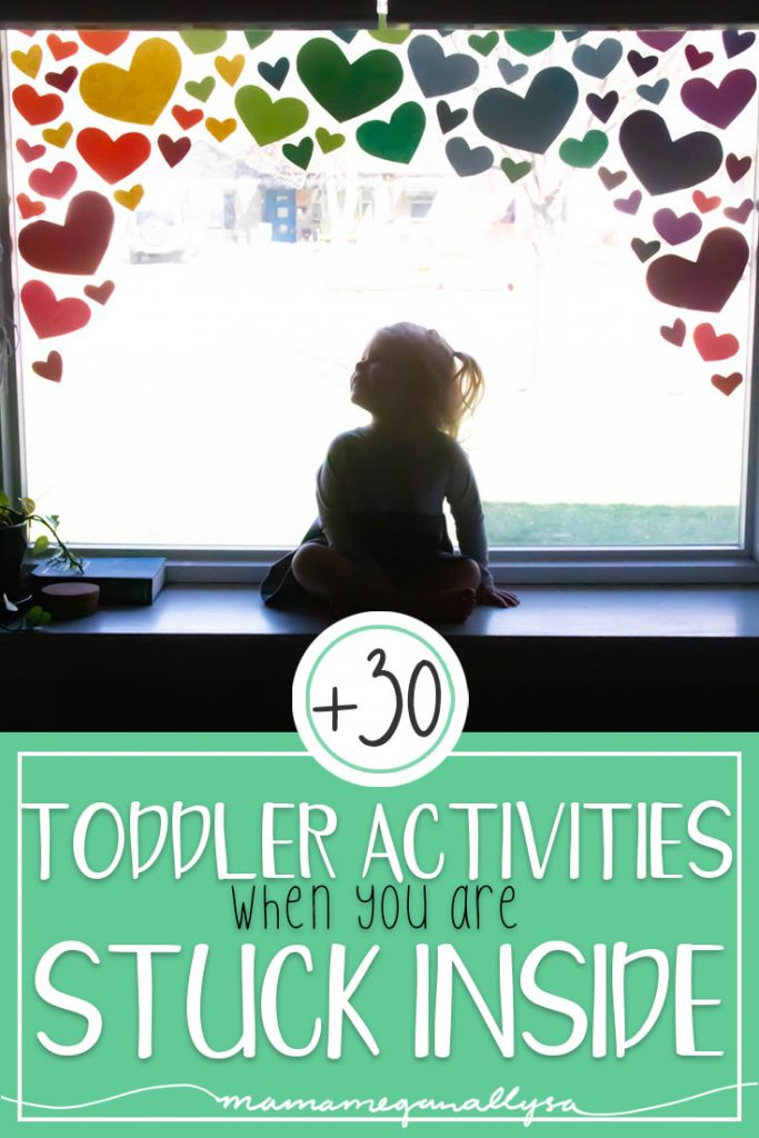 I pulled together my favorite low prep ideas on keeping our toddlers entertained at home while we are social distancing