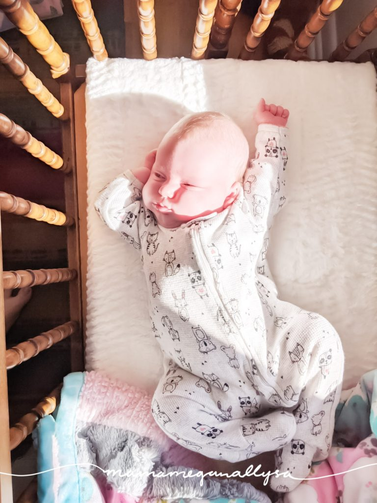 That baby stretch after a good nap is the best!