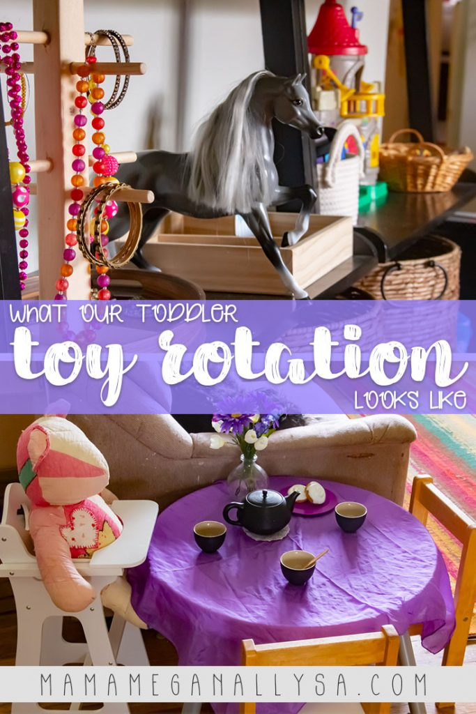 Our Princess toy rotation has lots of opportunities for dress up and imaginative play
