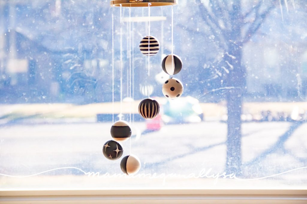 My Montessori inspired Mobiles are simple and modern making them both beautiful to look at and easy to make