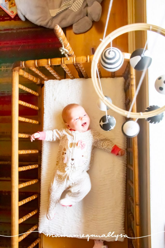 Ideally you would display your Munari Mobile in separate baby play space so as to keep stimulating spaces separate from relaxing spaces