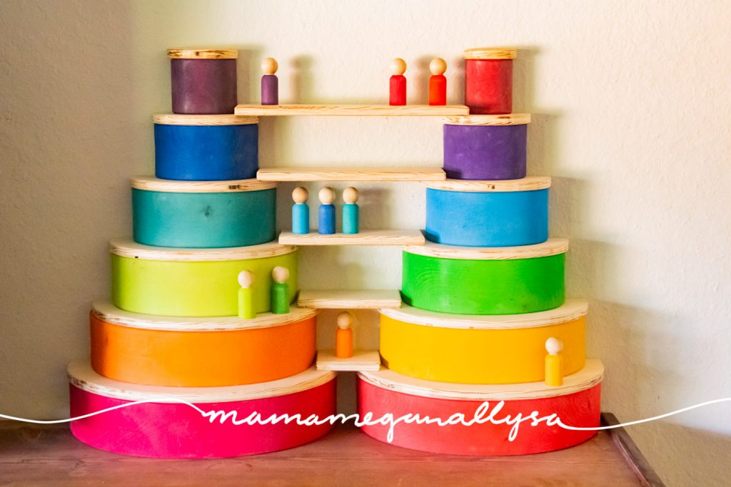 Using your DIY Semicircles and Planks together with your Rainbow is the best of both worlds for sure!