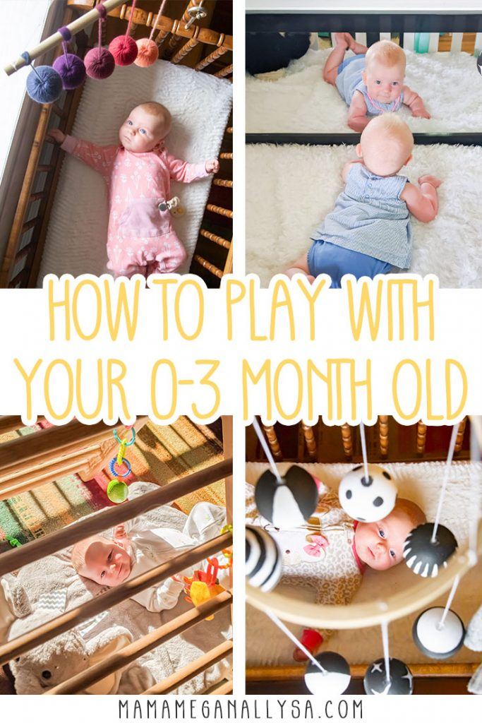 Newborn playtime is super simple. You don't need much to stimulate your baby's senses and help develop their brain and have plenty of fun along the way!