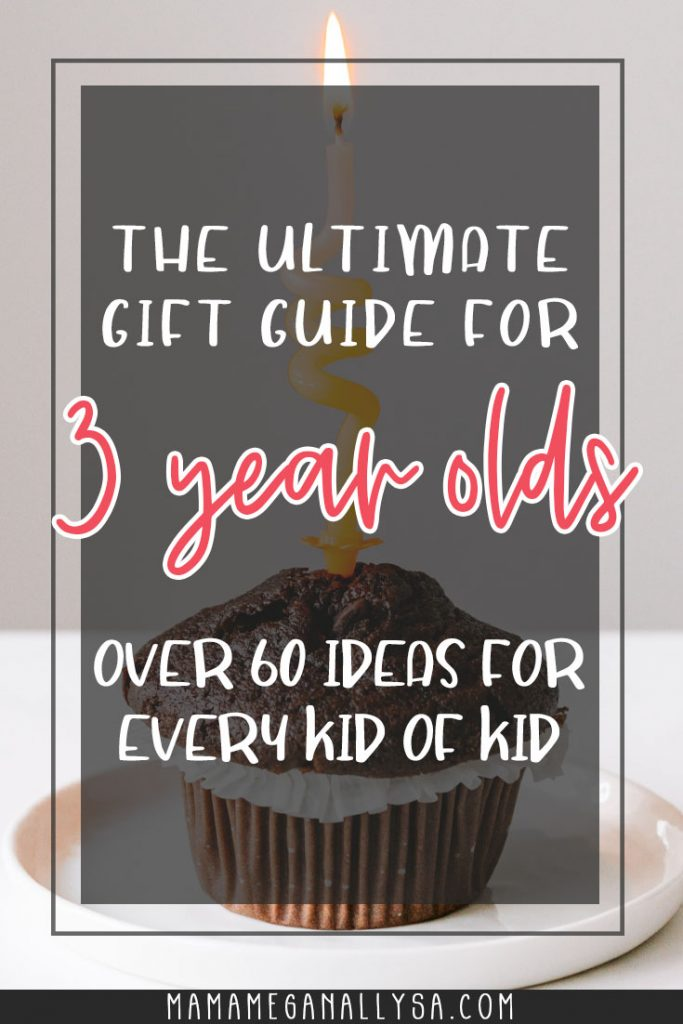 A 3rd Birthday gift guide that covers everything from blocks to books to dress up  and everything in between that your toddler is sure to love