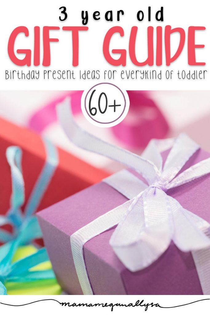 Over 60 ideas to pick from in this 3rd birthday gift guide No matter what your toddler is in to there is sure to be a winner here!