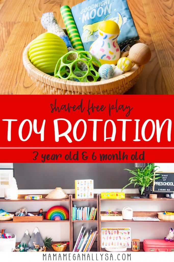It is no secret that I LOVE toy rotation. It keeps the clutter under control it allows for faster and easier cleanup and it can spark new interest in toys that otherwise have gone stale. I have lots of tips and tricks to help you succeed at your own toy rotation